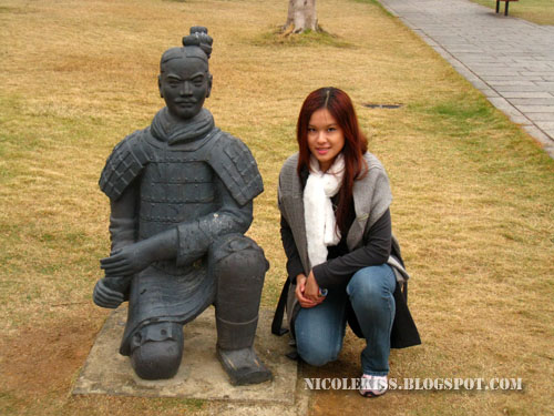 me and Terra Cotta Warrior 4