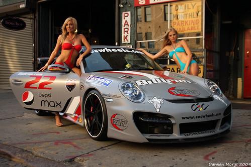フリー画像| 自動車| スポーツカー| ポルシェ/Porsche| 水着| イベンコンパニオン|      フリー素材|
