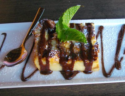 La Sirena Grill and Cantina - Bread Pudding