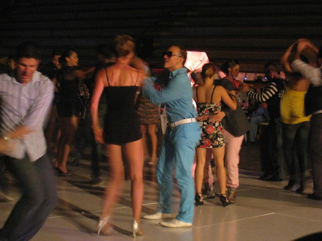 Social dancing at the Colombia Salsa Congress