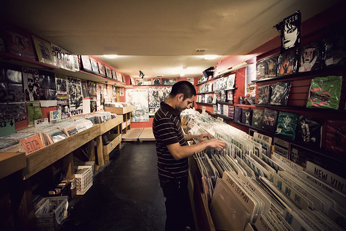 Purusing through records