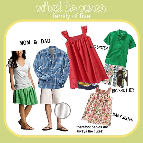 What to Wear family of five 3