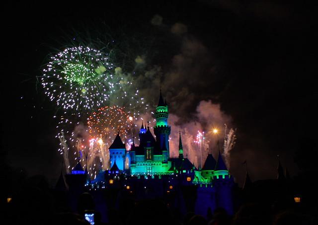 Disneyland Fireworks9