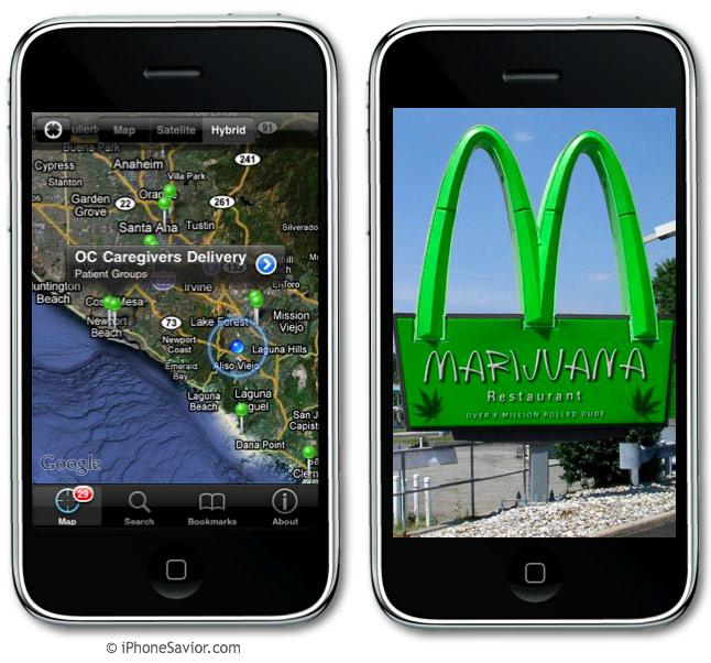 Cannabis iPhone App