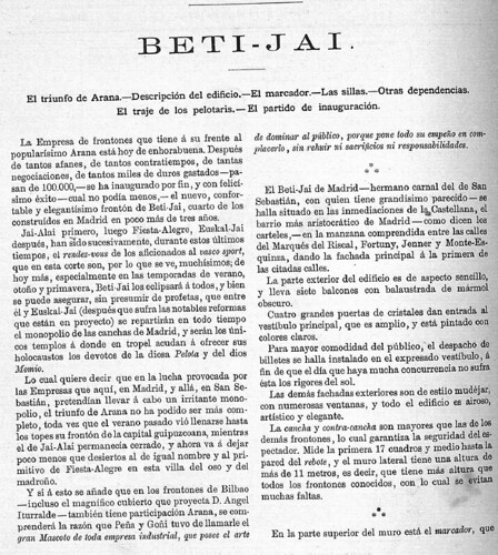 Revista El Pelotari