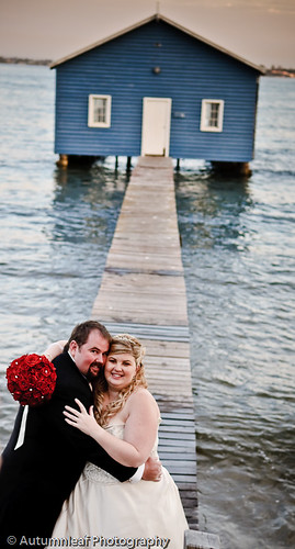 Chealsea & Mark Wedding - At the Boatshed