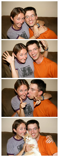 Fauxtobooth: Kendra, Tim, Boss