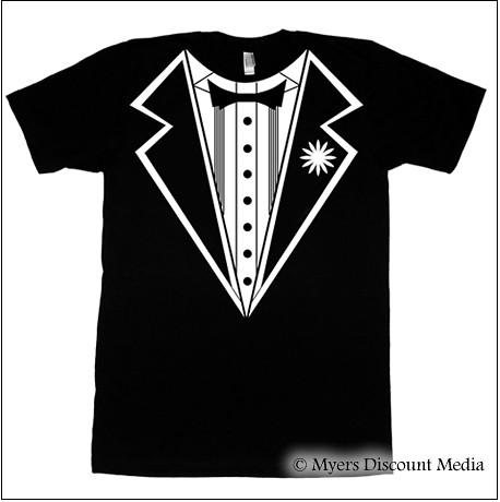 Tuxedo T-Shirt Design