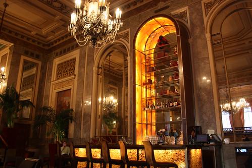 Lobby where we met for drinks