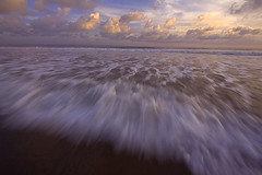 Clouds & Motion (Helminadia Ranford(New York)) Tags: longexposure sea bali seascape motion beach nature clouds indonesia landscape wave batubelig canon50d vosplusbellesphotos