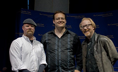 They are both really nice guys. I&apos;m really happy to have met them both.<br /><br />As far as I&apos;m concerned they are the two most interesting people in the Bay Area - I&apos;m very jealous of them both ;)<br /><br />Thanks for the brief photo-op