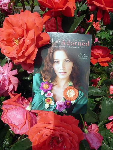 Crochet Adorned at the Rose Garden
