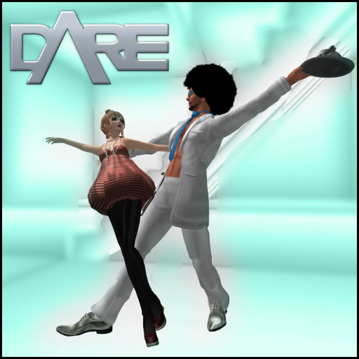 ..::DARE::.. Disco Lean Couple pose