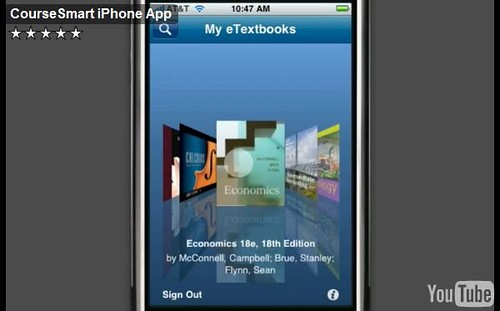 CourseSmart eTextbooks iPhone