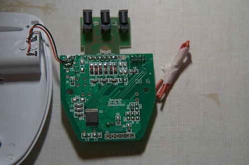 efergy energy monitor transmitter back