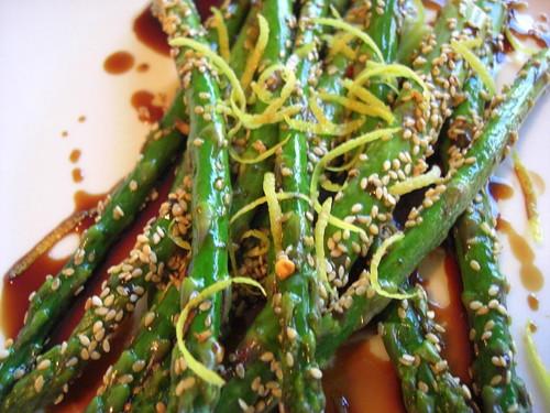Toasted Sesame Asparagus
