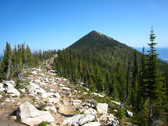 Parker Peak, Parker Ridge Trail, Selkirk Mountains, North Idaho.