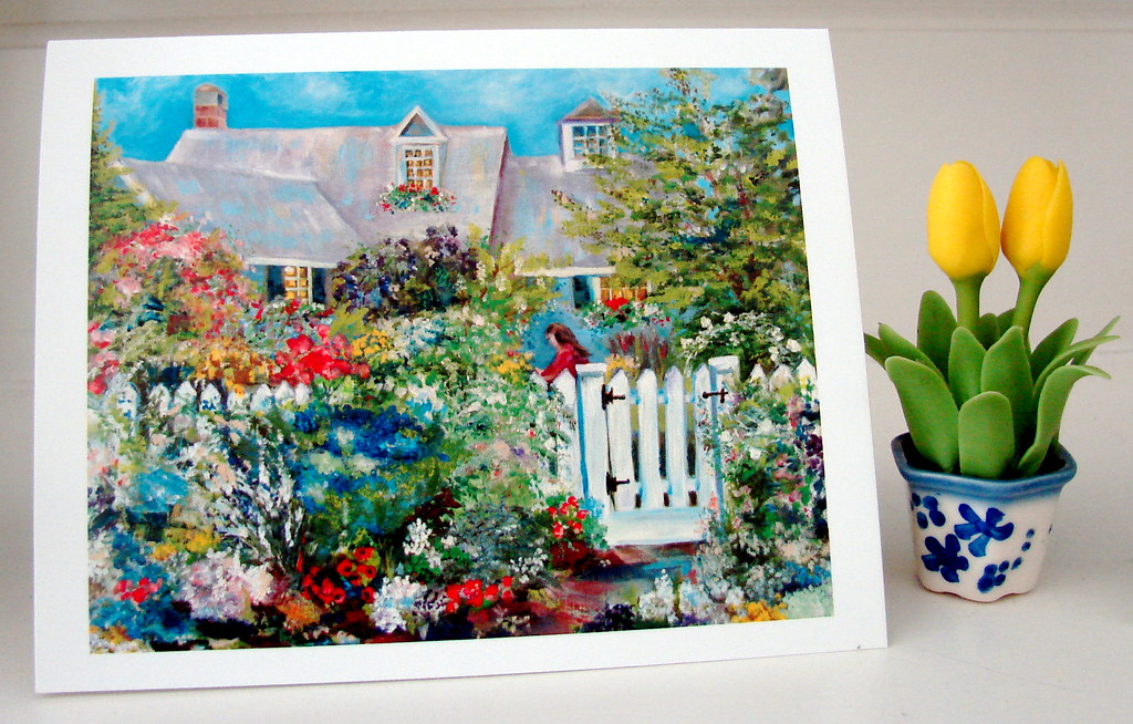 Cottage of Abundance note cards 4