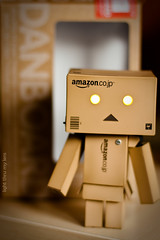 Hi! ~~ Hola! (light thru my lens) Tags: f18 danbo canonef50mmf14usm niftyfifty danboard lightthrumylens