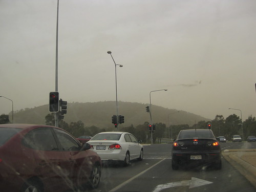 Canberra Dust Storm