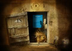 secret (grand) (casajordi) Tags: door strange collage vintage mouth dark keys secret abnormal dreamcatcher bizare memoriesbook