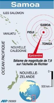 tsunami afp 29 septembre 2009 Samoa
