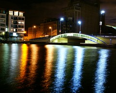 Liffey River (federico.soffici) Tags: 1001nights aroundtheworld spiderbridge goldsealquality dragonflygroup eurolandiaeire