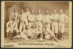 Metropolitan baseball nine 1882 (LOC)