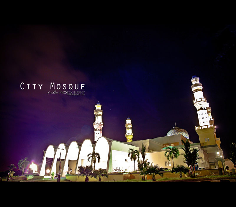 City Mosque - Kota Kinabalu (Capital City)