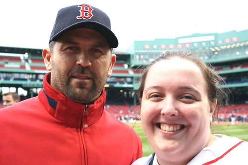 Jason Varitek and me by you.