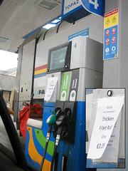 Topaz station, Ashford - €0.09 chicken fillet rolls! :O