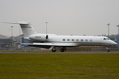 N554CE - 5188 - Private - Gulfstream G550 - Luton - 091007 - Steven Gray - IMG_9961