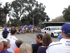 The Tigers Arrive (Cook Me Somethin' Mister) Tags: lsu website tailgating jambalaya castironpot yumyumgirl lsuvsflorida jambalayagirl doublecooker neworleansstylecooking