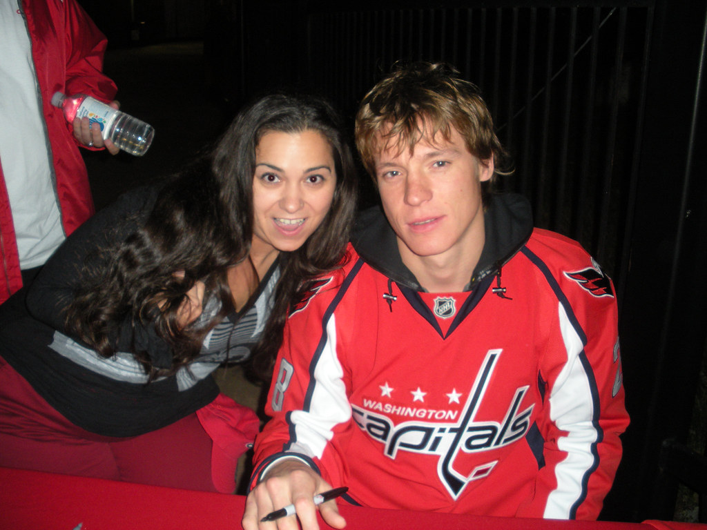 Me and the hottest hockey player ever!!! 78/365