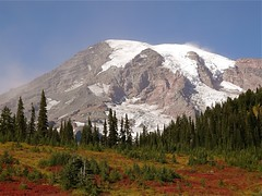 Mount Rainier (judi berdis) Tags: mountrainier glaciers wa paradisevisitorcenter