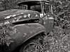 (Jay Morrison) Tags: blackandwhite bw ontario cars metal rust automobile decay junkyard scrapyard autowreckers mcleans jaymorrison