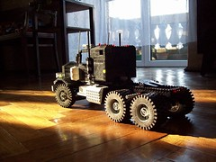 Back in black (Ciezarowkaz) Tags: truck model lego el technic peterbilt 113 caracho