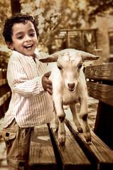 SAIF (irfan cheema...) Tags: china pakistan boy smile kid child shanghai goat saif irfancheema familygetty2010