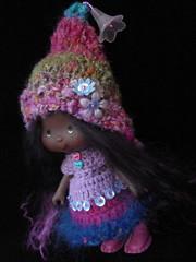 Zinnia (polly :)) Tags: strawberry doll mohair polly zinnia custom shortcake