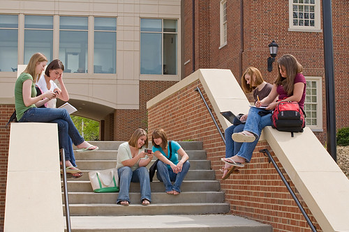 Active College Students by edesignpics