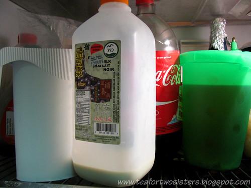 Black soy milk