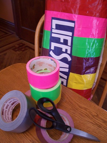 duct tape is your friend