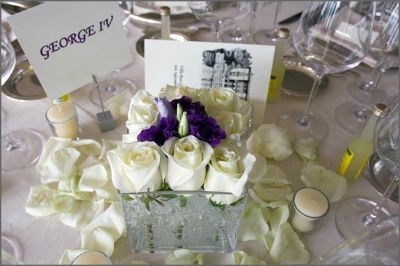 Villa Rusconi Table Decoration