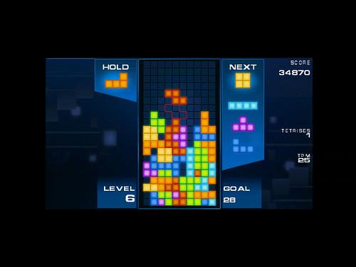 minis - Tetris - screen