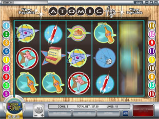Atomic Age slot game online review