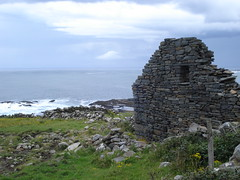 Famine Village (Michellania) Tags: ireland sea historic famine