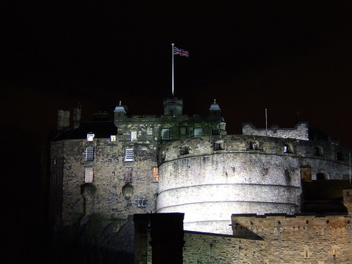 Edinburgh Castle, November night 2