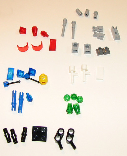 LEGO Space Police 5981 - Raid VPR - Parts 1
