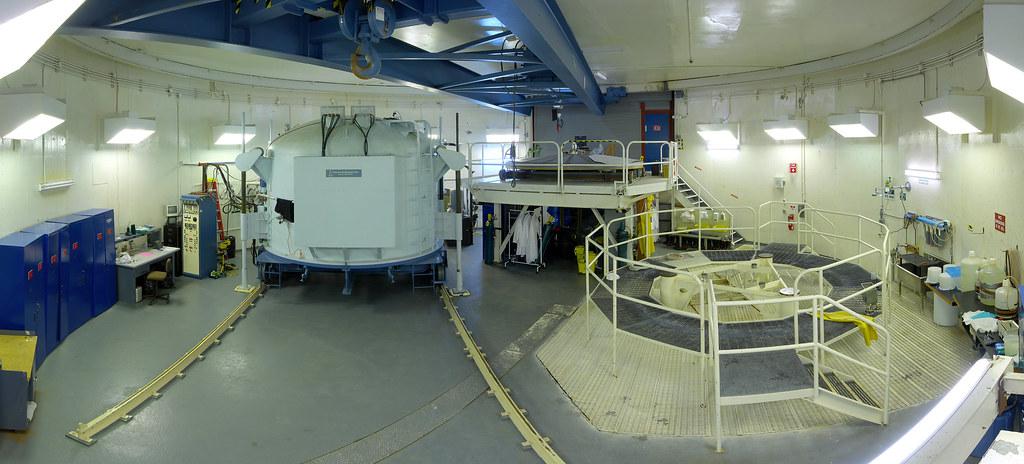 CFHT Aluminizing Room