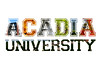 Acadia Text Art (Grant is a Grant) Tags: white college nature collage photoshop cutout campus words university text banner varsity elements transparency font acadia wordart textart acadiauniversity